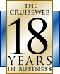 The Cruise Web: Celebrating 16 Years in Business