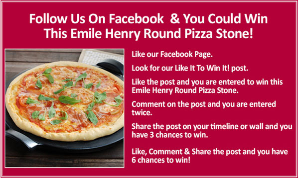 Win A Emile Henry Pizza Stone!