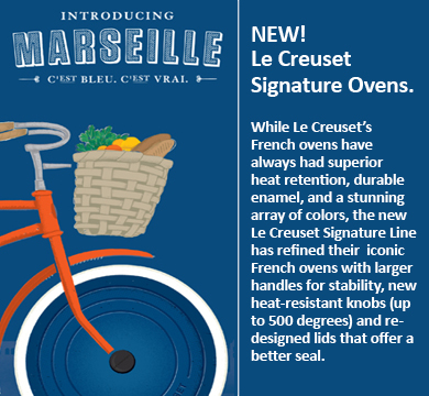 Introducing Le Creuset's Newest Color - Marseille