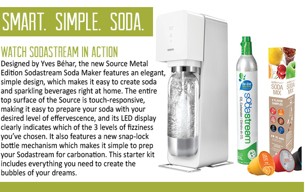 SodaStream Source In Action!