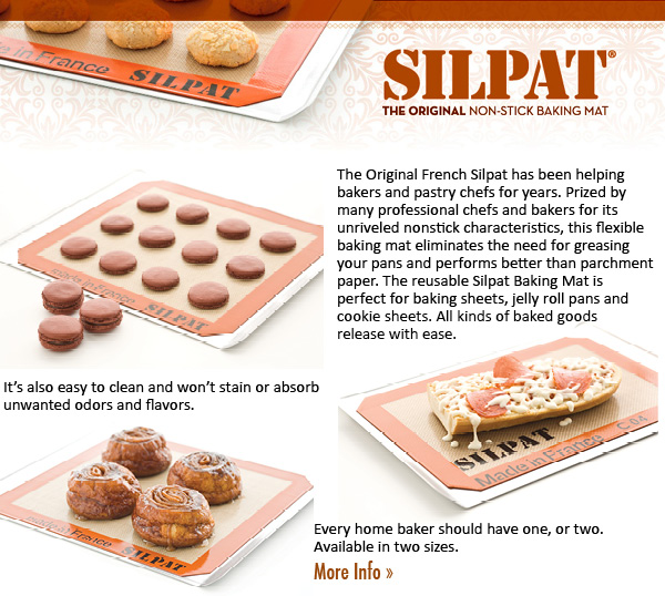 The Original Non-Stick Silpat Baking Mat