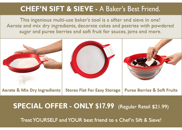 Special Offer - The Baker's Best Friend