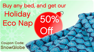 50% off our Holiday Eco Nap - when you buy any bed.