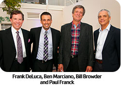 Frank Deluca, Ben Marciano, Bill Browder and Paul Franck
