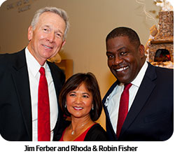 Jim Ferber, Rhoda & Robin Fisher