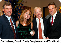 Dan Wilcox, Connie Frady, Greg Nelson and Tom Breck