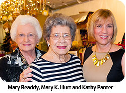 Mary Readdy, Mary K. Hurt and Kathy Panter