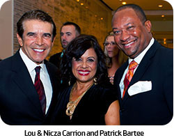 Lou & Nicza Carrion and Patrick Bartee