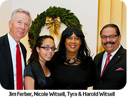 Jim Ferber, Nicole Witsell, Tyra & Harold Witsell