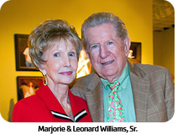 Marjorie & Leonard Williams, Sr.